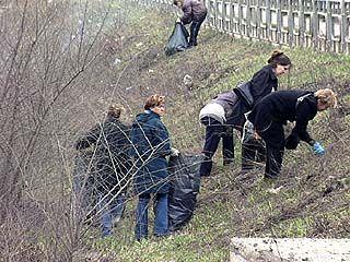 В этом году уборка Воронежа началась позже обычного