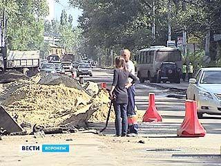 В этом году в Воронеже появится несколько новых дорог