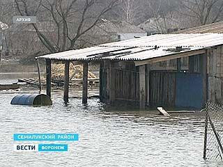 В этом году в зоне паводка окажутся 250 населённых пунктов Воронежской области