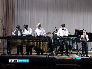 В филармонии состоялся благотворительный концерт класса ударных инструментов