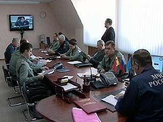 В Главном управлении МЧС прошла видеоконференция