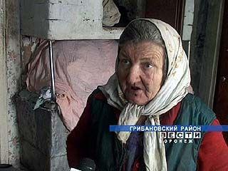 В Грибановском районе ограбили пенсионерку