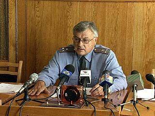 В ГУВД Воронежской области прошла пресс-конференция