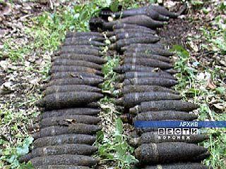В Хохольском районе обнаружен целый арсенал