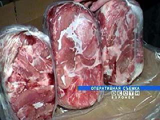 В Хохольском районе уничтожили партию импортного мяса