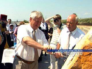 В Хохольском районе заложен камень в основание кирпичного завода