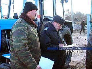 В хозяйствах Воронежской области начался осмотр техники