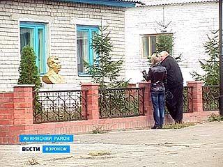 В хозяйстве имени Ленина Аннинского района появился музей памятников