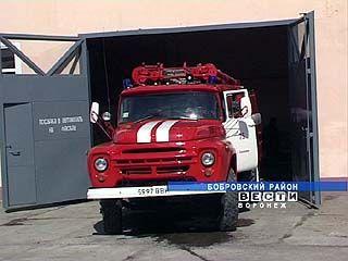 В Хреновом открылась новая пожарная часть