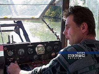 В Калаче началась генеральная очистка реки Толучеевка