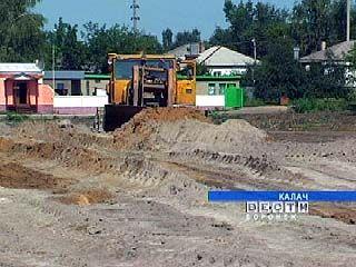 В Калаче начались работы по благоустройству городского парка