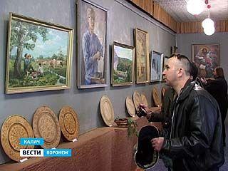 В Калаче открылась  выставка дипломных работ выпускников Бутурлиновского педучилища