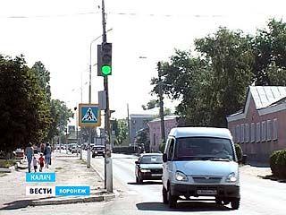 В Калаче появились первые светофоры