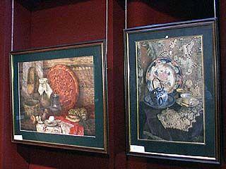 В Калаче представлены работы художника Петра Пятницкого