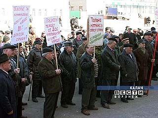 В Калаче прошёл митинг