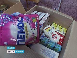 В Калаче соцработники организовали пункт приема помощи для пострадавших на Кубани