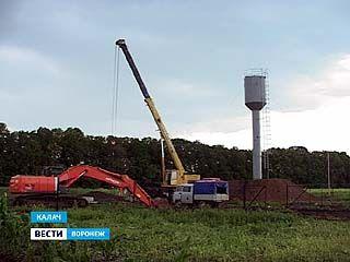 В Калаче уже почти достроили 50 километров водопроводных сетей