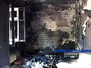 В Калаче зафиксирована серия пожаров