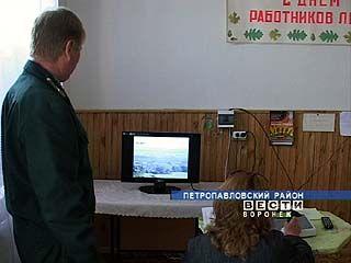 В Калачеевском лесничестве установили систему видеонаблюдения