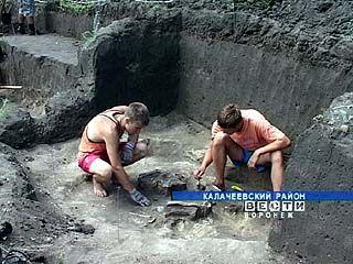 В Калачеевском районе обнаружена стоянка эпохи мезолита и курган бронзовой эры