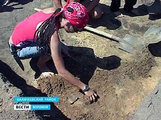 В Калачеевском районе обнаружены уникальные исторические находки