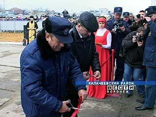 В Калачеевском районе открыта последняя в этом году пожарная часть