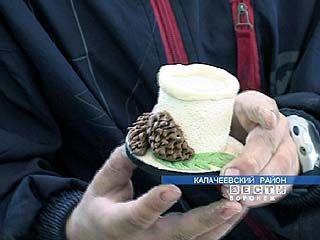 В Калачеевском районе производят подарки из теста
