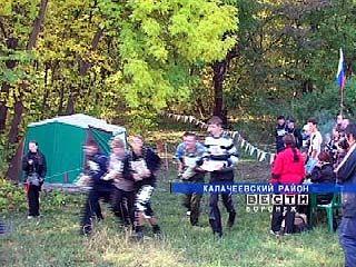 В Калачеевском районе прошел туристический слет