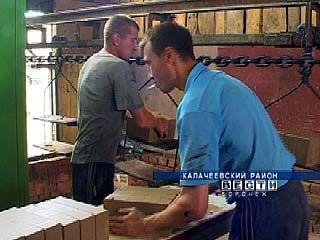В Калачеевском районе запушено производство кирпича