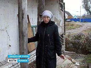 В Каменке семья более 80 лет живет в аварийном доме