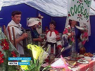 """В Каменском районе прошёл поэтический фестиваль """"Воронцовая Русь"""""""