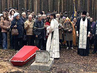 В Кантемировке состоялось перезахоронение советских солтат