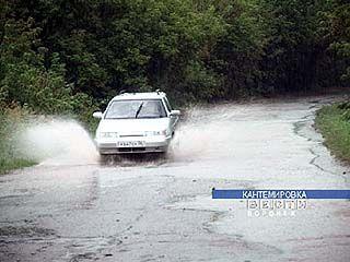 В Кантемировке за 2 часа выпала двухмесячная норма осадков