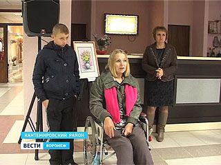 В Кантемировском Дворце культуры открылась экспозиция Татьяны Ктитаревой