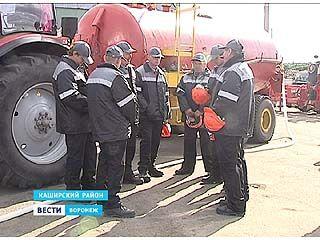 В Каширском районе появилась команда пожарных добровольцев