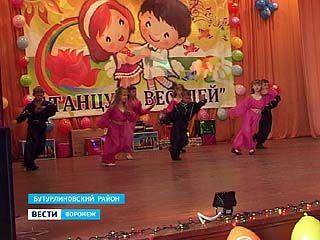 В Колодеевке Бутурлиновского района состоялся фестиваль детского танца