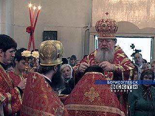 В колонии посёлка Перелёшино Владыко Сергий освятит церковь