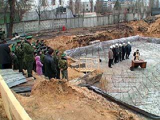 В Коминтерновском районе строится жилой дом для пограничников