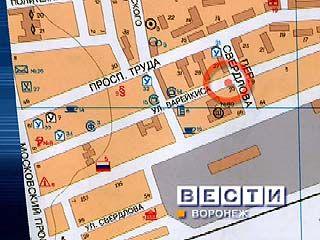 В Коминтерновском районе Воронежа пьяный водитель сбил пешехода