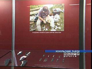 """В """"Костенках"""" открылась выставка древних орудий труда"""