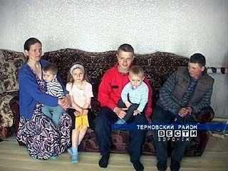 В Козловке больше всего многодетных семей в Терновском районе