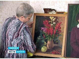 В краеведческом музее Павловска открылась выставка работ Федора Попоудина