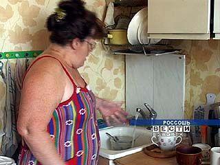 В кранах одной из Россошанских девятиэтажек есть только горячая вода