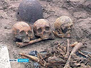 В квартале на Московском проспекте вновь нашли массовое захоронение советских бойцов