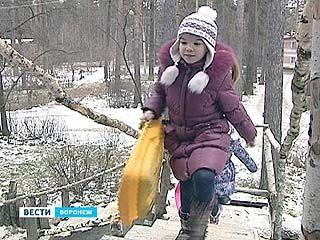 """В лагере """"Кировец"""" - зимняя смена"""