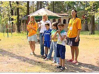 """В лагере """"Колосок"""" открылся детский фестиваль"""