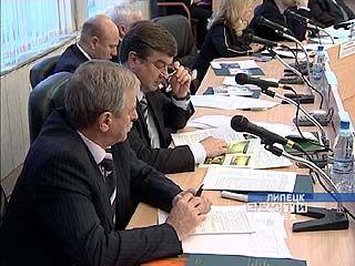 В Липецке прошло заседание совета мэров городов ЦФО