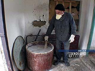 В Лисках хлорируют городские водозаборы