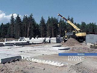 В Лисках начато строительство новой ЦРБ