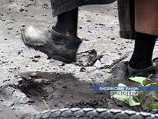 В лискинском районе наводнение нанесло огромный ущерб жителям